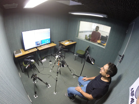 Processo de Coleta de Áudio em Estúdio